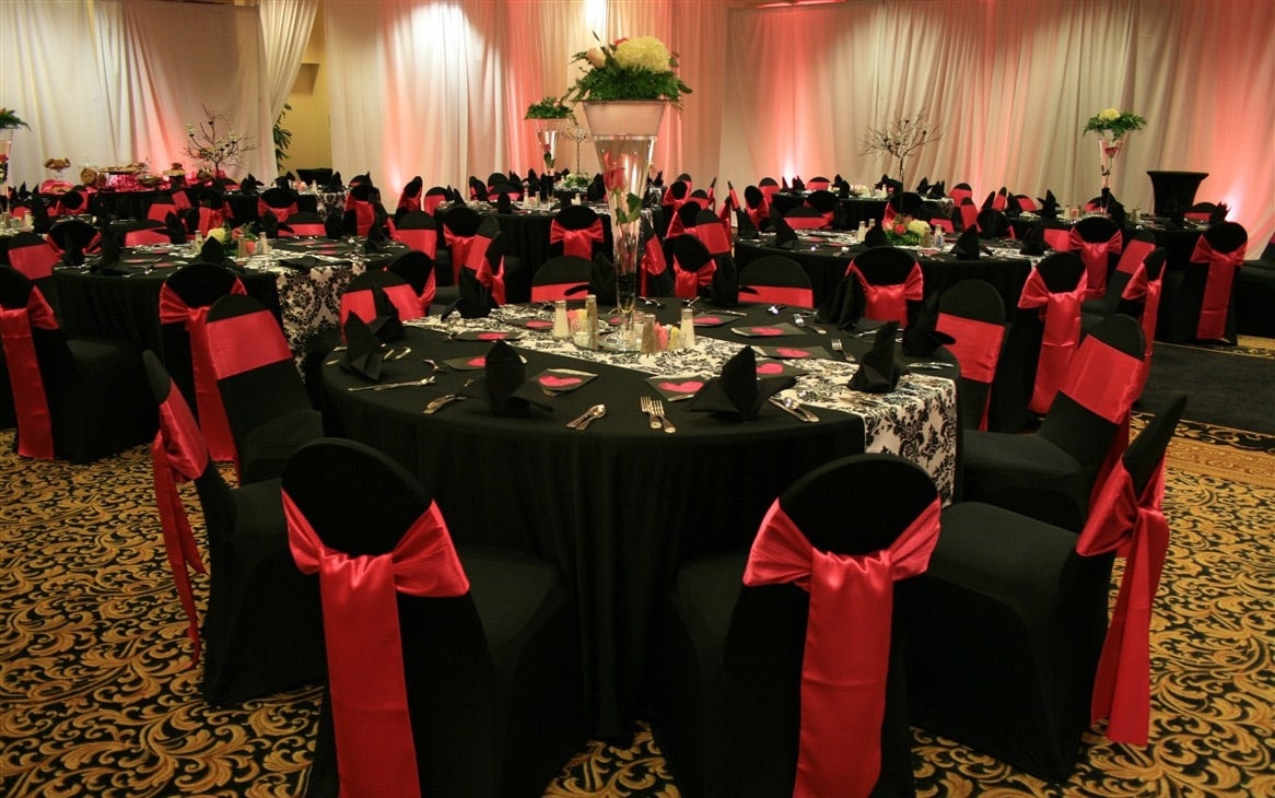 Black Chair Covers Event Decor Hire Chair Covers And