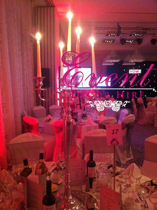 large candelabras