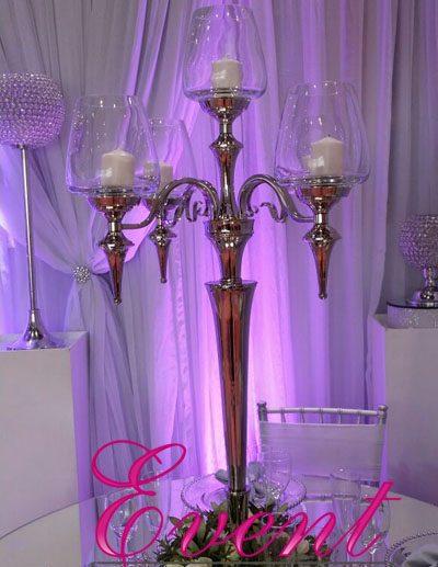 dramatic candelabra