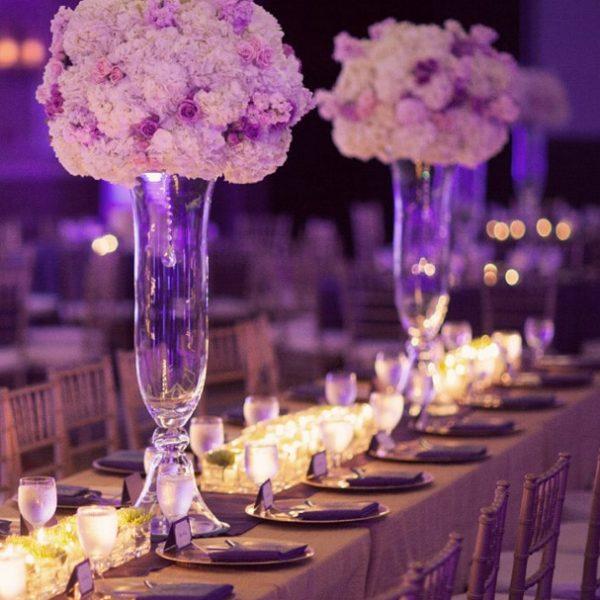 bell vase flowers