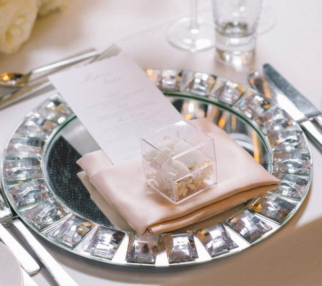 mirror charger plates