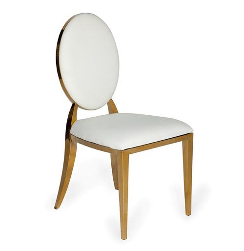 gold rim chair