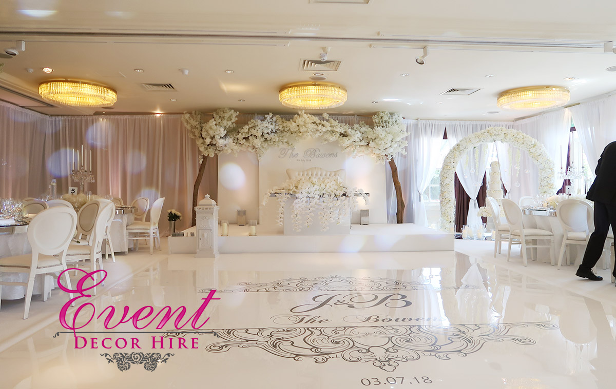 blossom tree luxury wedding