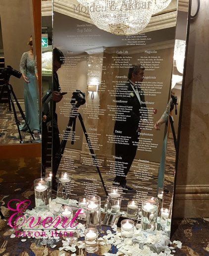 table plan mirror