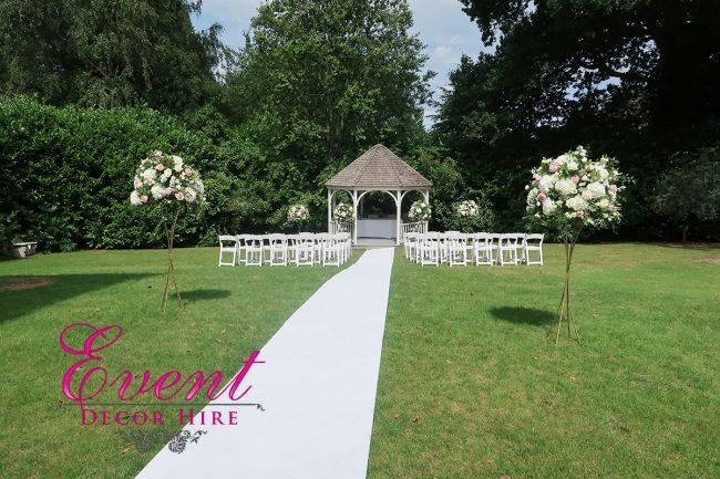 flower design wedding