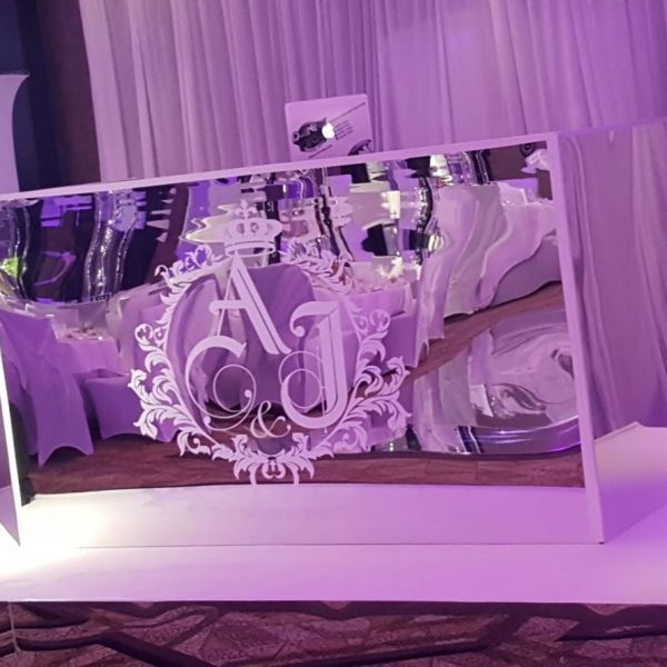 mirror dj booth