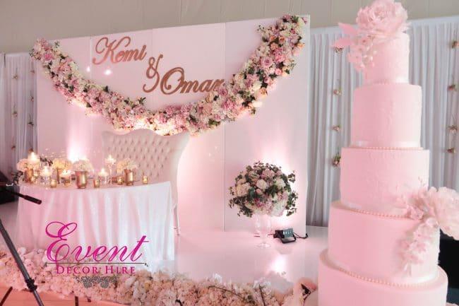 wedding stage london