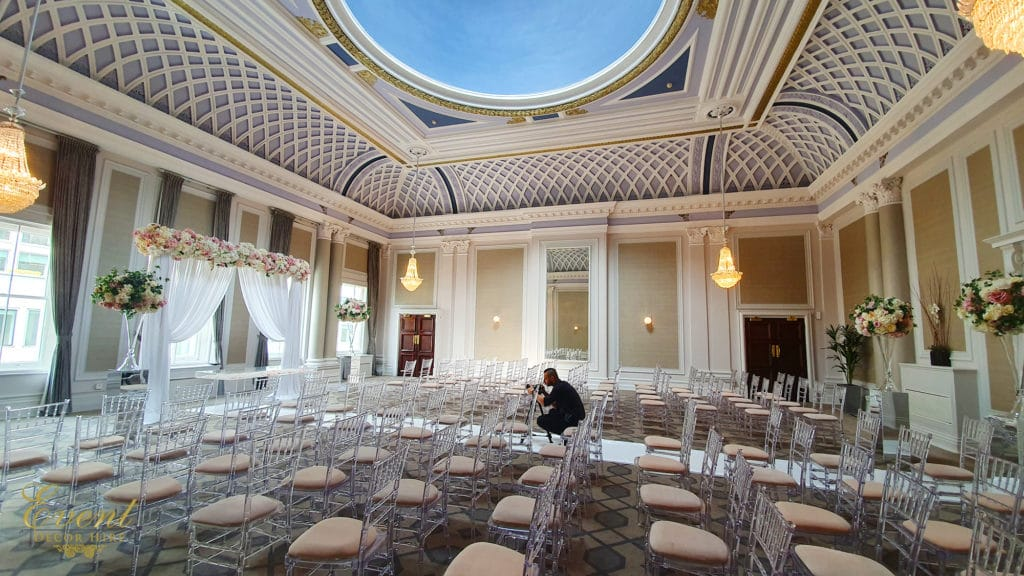 wedding grand connaught rooms crown suite