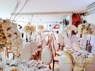 gold arabella chairs