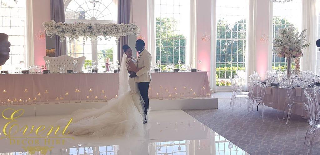 greek wedding decor