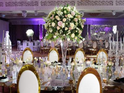 luxury flowers wedding