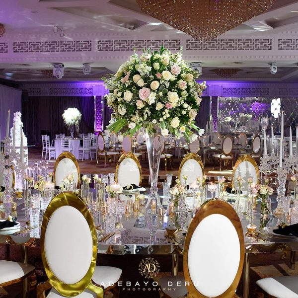 luxury flowers wedding