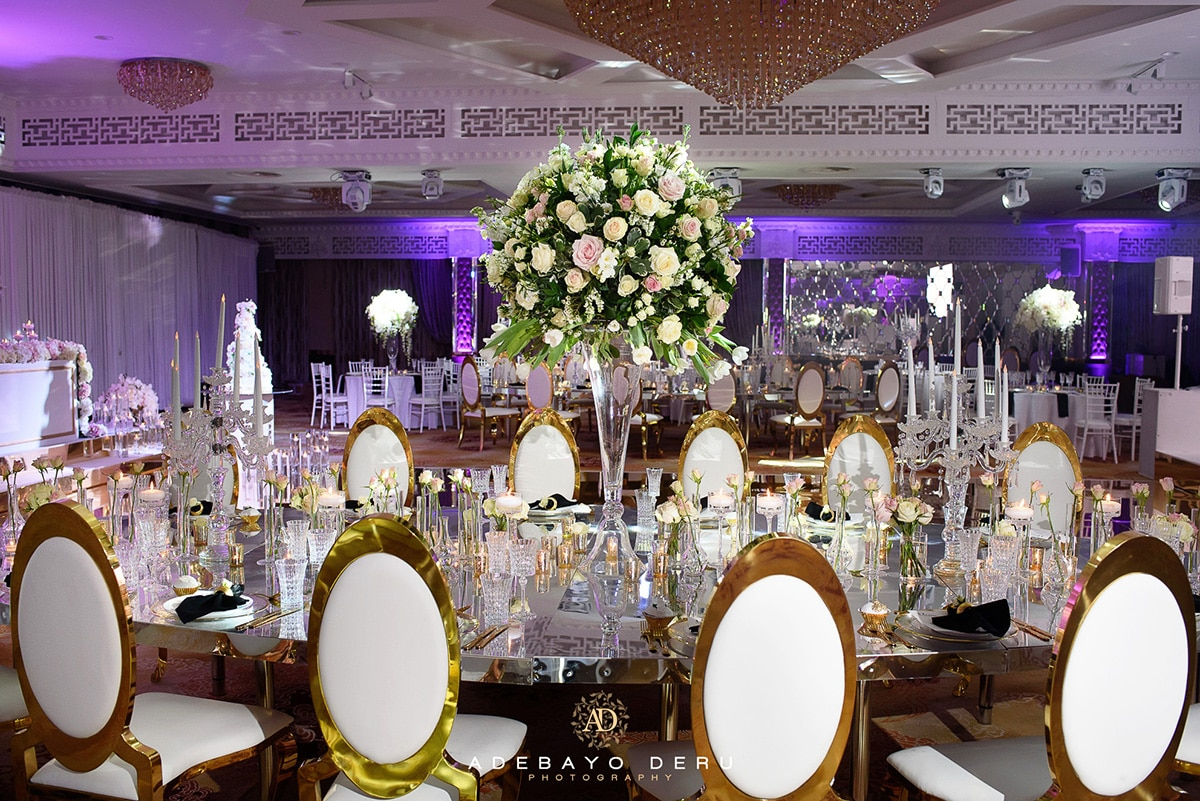 vip table wedding