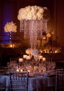 Crystal Centrepiece Hire