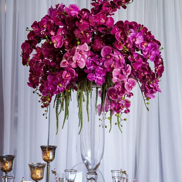 Luxury Silk Flowers Centrepiece