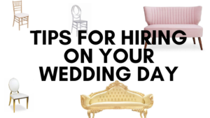 TIPS FOR HIRING ON WEDDING