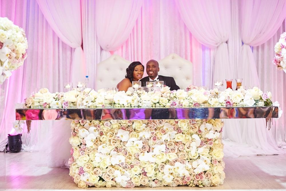 SWEETHEAR TABLE WEDDING design