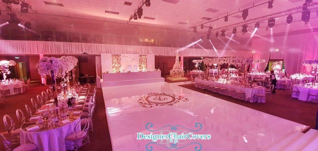 luxury white dancefloor