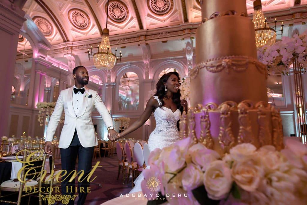 wedding decor ghanian london