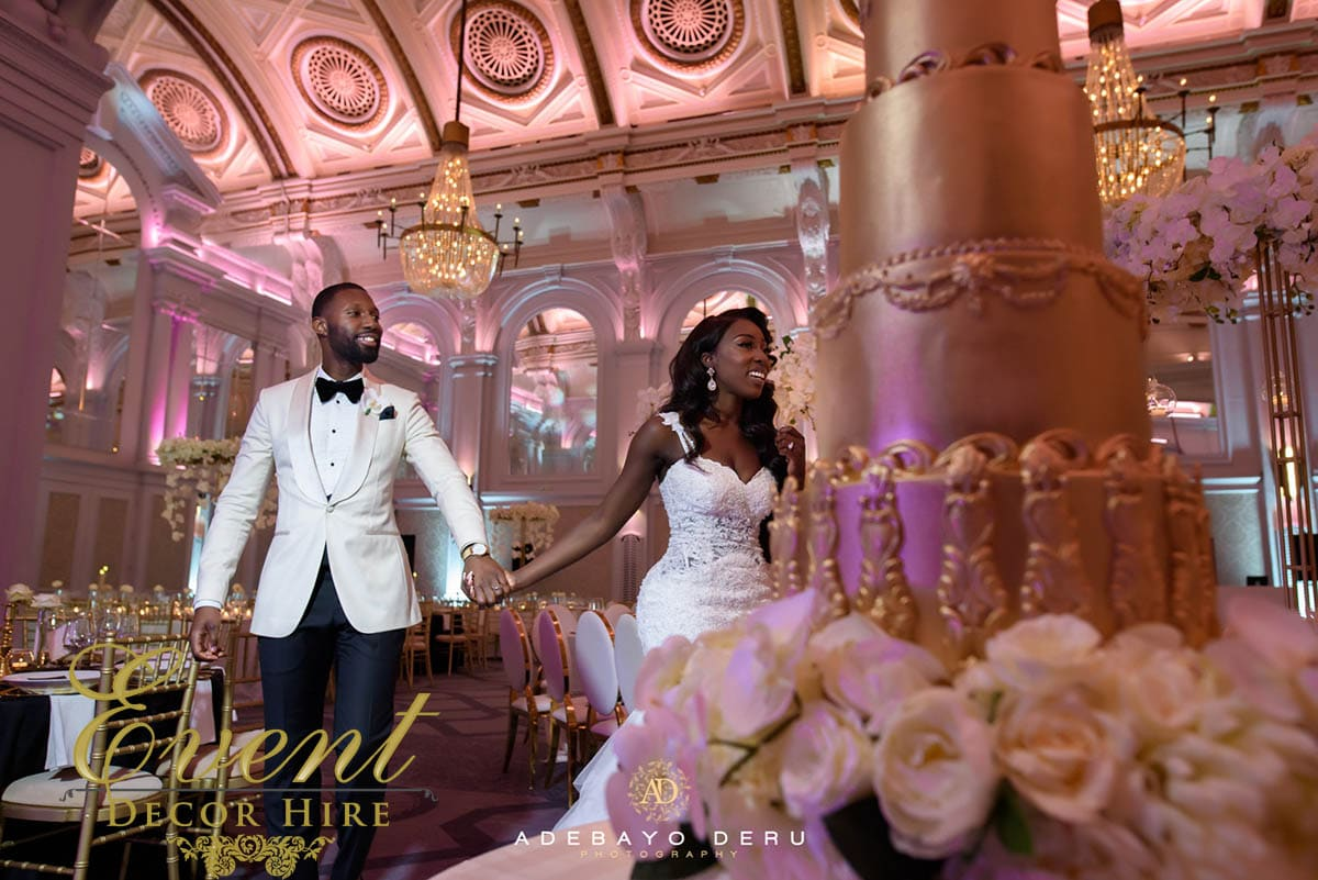 wedding decor ghanian london