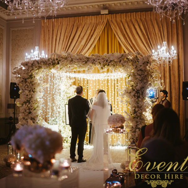 chuppah lights